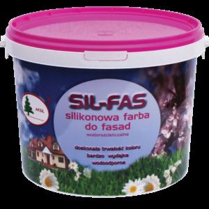 SILFAS silikonowa farba do fasad